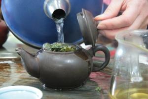 gong fu style Li Shan tea
